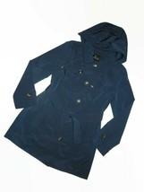 London Fog Dark Teal trench rain dress Coat w rem hood women's size 2XL ... - $109.35