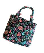 Vera Bradley Hadley Tote Bag ~ Floral Vines Cotton Handbag New/NWT Purse - $64.95
