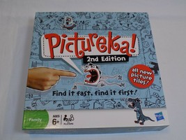 Pictureka! 2nd Edition Family Ages 6+ 2+ Players Fast Board Game Hasbro ... - $24.99