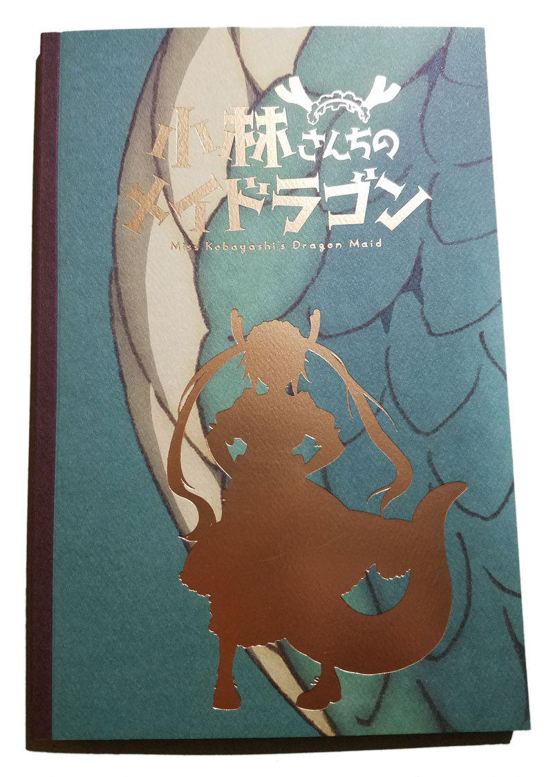 Loot Anime Crate Exclusive Miss Kobayashi's Dragon Maid Notebook * New