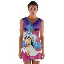 tunic top wrap dress aladdin princess jasmine wedding club sleeveless hot sexy  - $36.00 - $42.00