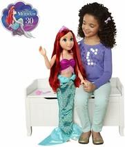 "Disney Princess The Little Mermaid 32"" Tall ARIEL Playdate Doll NIB/Sealed - $89.99"