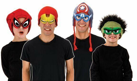 Marvel Comics Characters Cartoon Eyes Costume Kit, COSPLAY NEW UNUSED - $10.69