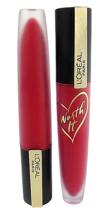 2 L'Oreal Paris Rouge Signature Lasting Matte Lip Stain 424 I Represent - $10.91