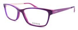 GUESS GU2538 075 Women's Eyeglasses Frames 55-15-135 Shiny Fuchsia / Gold - $65.44