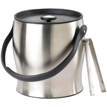 Houdini W4710T Double-Walled Ice Bucket with Tongs - $52.43