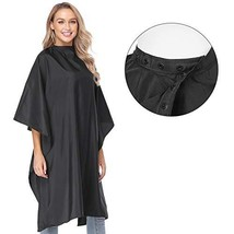Hair Cutting Barber Cape for Adults,Waterproof Salon Haircut Cape for Clients wi