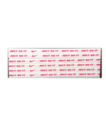 NEW Nike Unisex Running Headband Swoosh Sport WHITE RED Logo - $6.50