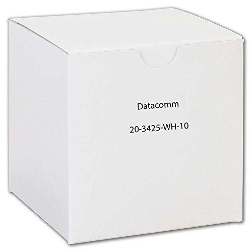 DataComm Electronics 20-3425-WH-10 CAT-5E Jacks, 10 Pack (White) - $45.53