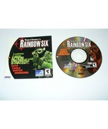 Tom Clancy's Rainbow Six (Sega Dreamcast, 2000) Tested Disc & Booklet  - $9.90