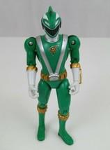 2008 BANDAI Power Rangers RPM Green Shark Ranger Action Figure 5.5 - $6.89