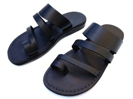 Leather Sandals for Men and Women TRIO by SANDALIM Biblical Greek Summer... - $40.36 CAD+