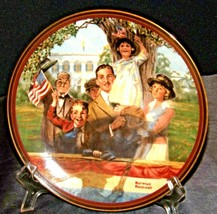 """1990 """"Our Love of Country"""" by Norman Rockwell AA20-CP2291 Vintage Commemorative"""