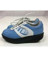 MBT Lifestyle 02 Blue White Black Toning Athletic Walking Shoes Mens US ... - $38.97