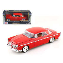 1955 Chrysler C300 Red 1/24 Diecast Model Car by Motormax 73302r - $24.99