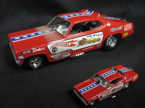 "Hot Wheels Legends ""Mongoose"" Tom McEwenn 1970 Plymouth Duster Funny Car 1:24th"