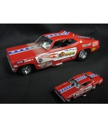 "Hot Wheels Legends ""Mongoose"" Tom McEwenn 1970 Plymouth Duster Funny Car... - $321.75"