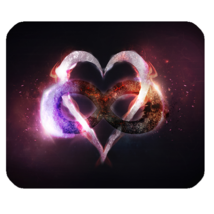 Mouse Pads Broken Heart Emotion Heartache Unconditional Love Nature Mousepads - $6.00