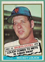 1976 Topps Traded #385T Mickey Lolich NM - $1.00