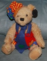 "Teddy Bear Dan Dee Collectors Choice Stuffed Animal Plush Toy Jointed Arms 13""  - $14.80"