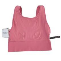 Victoria Secrets Seamless Bra Sports Workout Running Pink Womens L Large... - $23.72