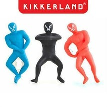 Kikkerland Ouvre Bouteille Luchador Bo09-a Mexicain Lutteur Couleurs Dif... - $8.20