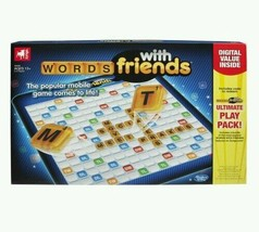 WORDS WITH FRIENDS Board Game Family Fun Gaming Zynga Games NEW, Sealed - $11.99
