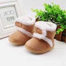 Newborn  First Walkers baby Girls Boys Shoes Toddler Warm Boots Winter B... - $5.89