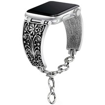 somoder Bling Bands Compatible Apple Watch Band 42mm 44mm, Vintage Chain... - $20.80