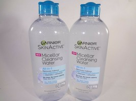Garnier SkinActive Micellar Cleansing Water All-in-1 AST (SS) 2 PACK 12-G  - $15.84