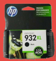 Genuine HP 932XL High Yield Black Ink sealed retail package exp july 2021 - $35.00