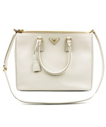 PRADA Saffiano Lux Galleria White Leather Ladies Tote 1BA786NZV - $1,619.10