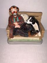 "Vintage Original EMMETT KELLY JR. CIRCUS COLLECTION ""A DOG'S LIFE""  Sign... - $17.50"
