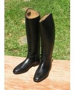 Leder Reiter Reitstiefel Leder Handmade Englisch Dressur Eigener Stiefel - $328.40