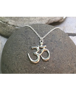 """OM Pendant - Sterling Silver Ohm Pendant on 18"""" Sterling Silver Chain - ... - $68.00"""