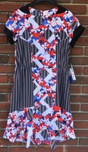 Peter Pilotto for Target Striped Floral Dress Size 10 NWT  - $18.41