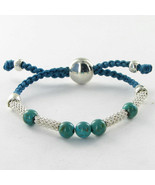 Links of London Effervescence XS Turquoise Bracelet 5010.2062 Sterling N... - $130.95