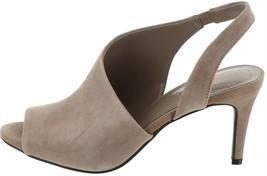 Bandolino Peep-Toe Slingback Sandals Jasmine Taupe 9M NEW S9441 - $18.79