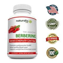 Berberine 1200mg - Supports Glucose Metabolism-Highest Strength/Serving-60 pills - $19.89