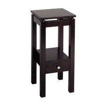 Small End Table Low Accent Side Entryway Living Room Nightstand Storage ... - $82.07