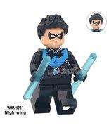 Single Sale Superhero Nightwing Dick Grayson DC Comics Batman Minifigure... - $1.99
