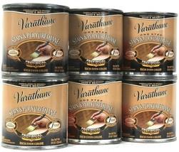 6 Cans Varathane 8 Oz Stain & Polyurethane 530 Provincial Semi Gloss Ric... - $22.99