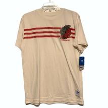 Youth Unisex Adidas Originals Portland Trail Blazers Distressed Tee Sz L... - $19.77