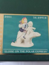 Snowbabies -ELOISE ON THE POLAR EXPRESS -MINT in Box - The Guest Collect... - $49.49