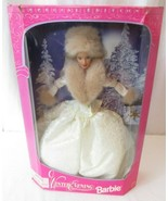 Winter Evening Barbie - Blonde - Special Edition 1998 - Never removed fr... - $14.84