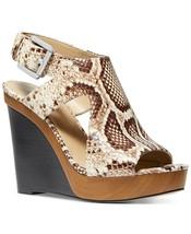 193210653385MICHAEL Michael Kors Josephine Wedge Sandals 6 - $128.69