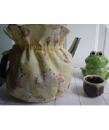 Vintage cotton handmade for 6-8 Cup  Reversible, Insulated Tea Pot  Cozy... - $1.500,23 MXN