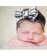 New 2 Set Mom Mother Baby Toddler Matching Nova Check Plaid Headband Hai... - $24.16