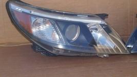 08-12 Saab 9-3 Halogen Headlight Lamps Set Pair L&R image 1