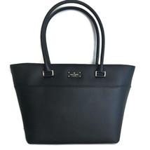 KATE SPADE Small Margareta TOTE Bag ~ Black Leather New/NWT ~ Grove Street - $134.95